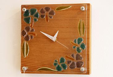 ガラス時計1